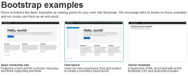 前端框架 Bootstrap