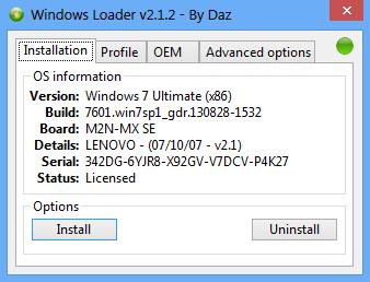 Win7,Windows2008激活工具