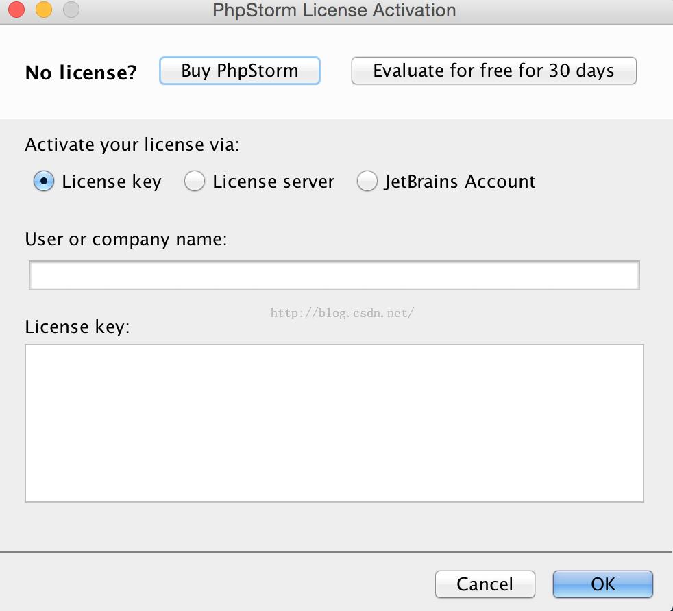 phpstorm MAC破解