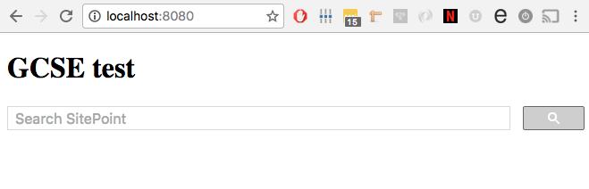 手动设置谷歌自定义搜索