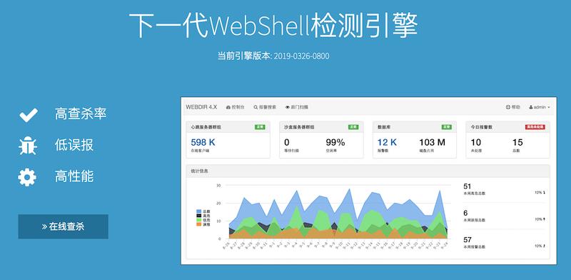 7款WebShell扫描检测查杀工具