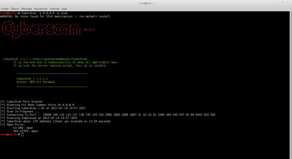 CyberScan - 网络取证工具包