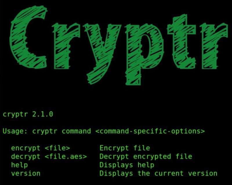 Cryptr:使用Shell脚本进行OpenSSL加密和解密文件