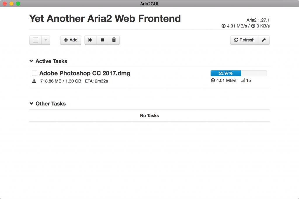 Aria2 - 破解下载限速的极速下载工具