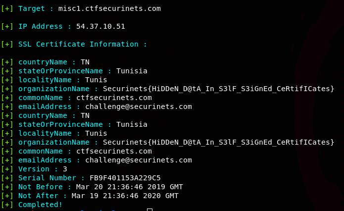 FinalRecon - 公开资源情报网络侦察工具