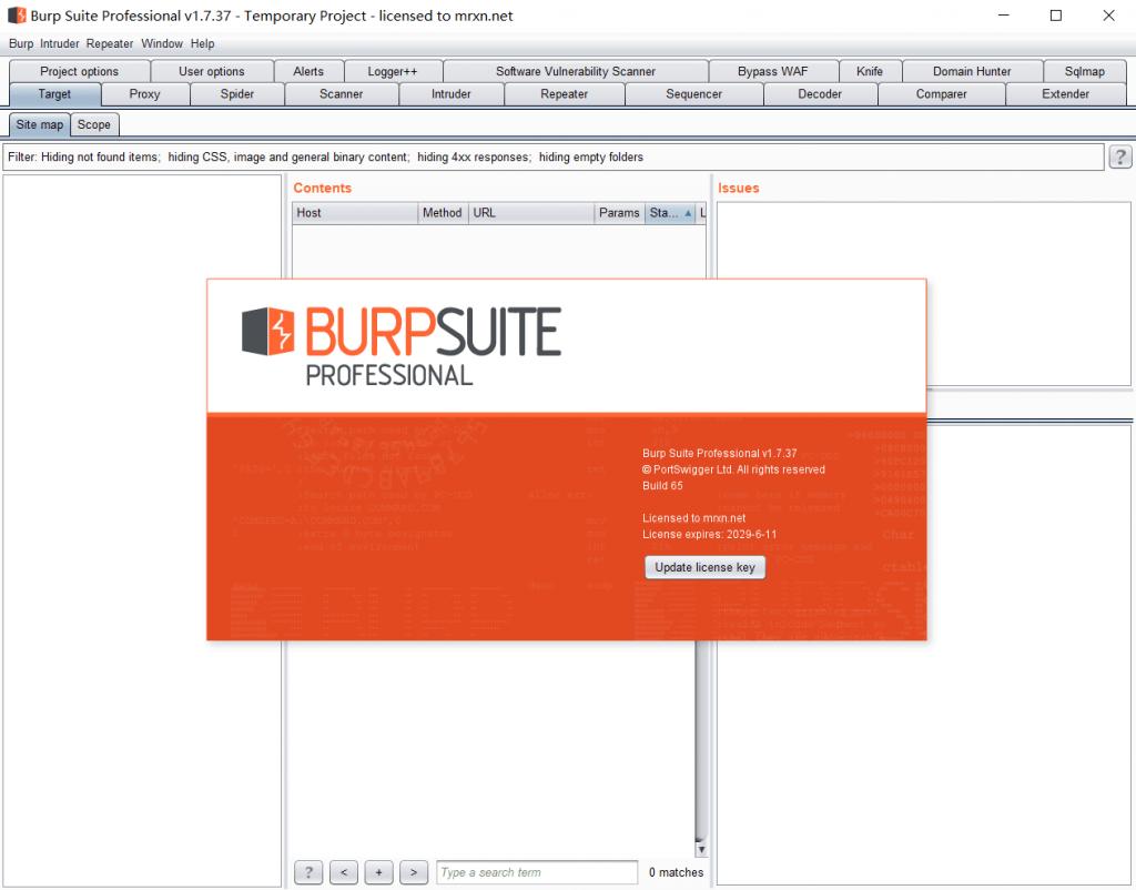 BurpSuite Pro v1.7.37 破解版