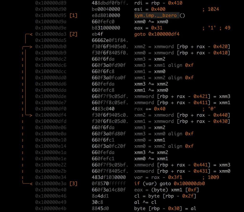 radare2 - 开源的逆向工程和二进制分析框架[破解神器]