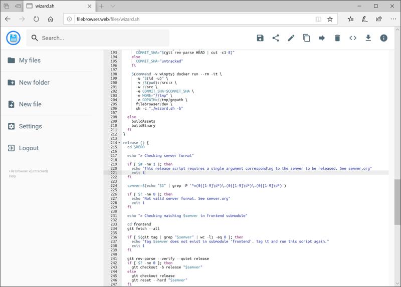 File Browser:基于go的轻量文件管理系统(网盘),多用户|免费开源