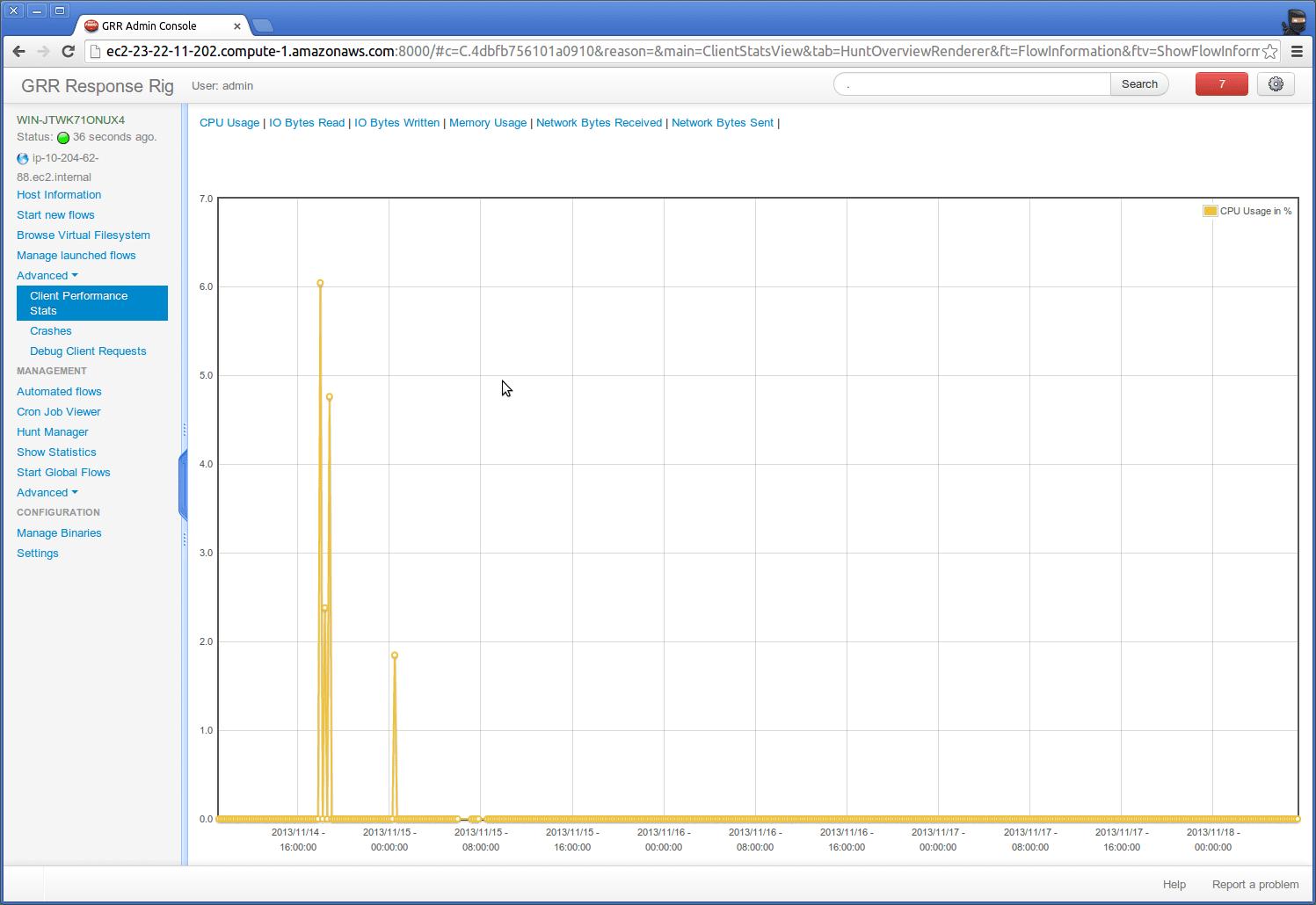 GRR Rapid Response:Linux/OSX/Windows远程实时取证分析工具
