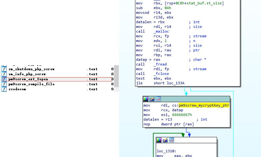PHP Screw解密,PHP Screw加密解密算法实现