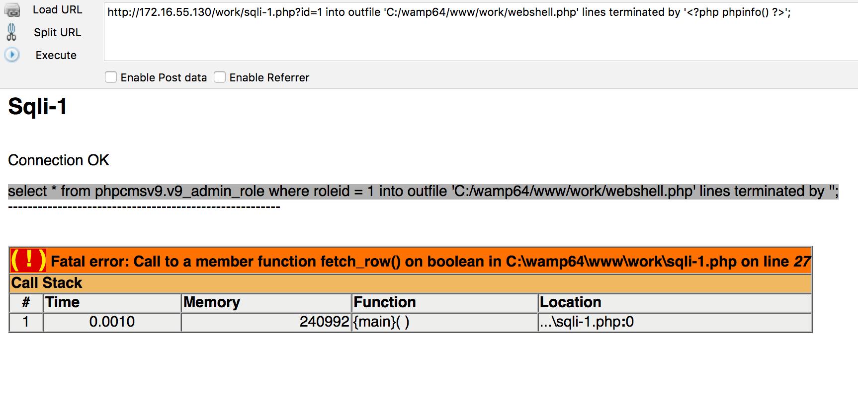 MySQL注入点写WebShell的5种方式