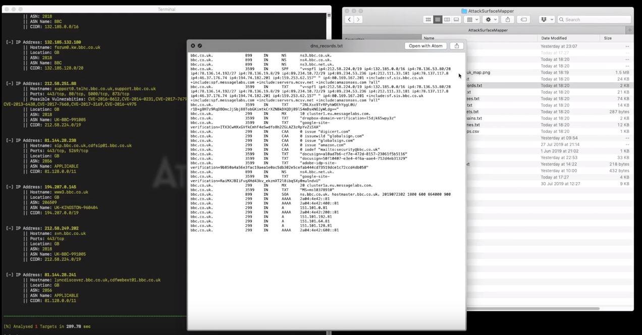 新型自动化渗透测试工具:AttackSurfaceMapper(ASM)