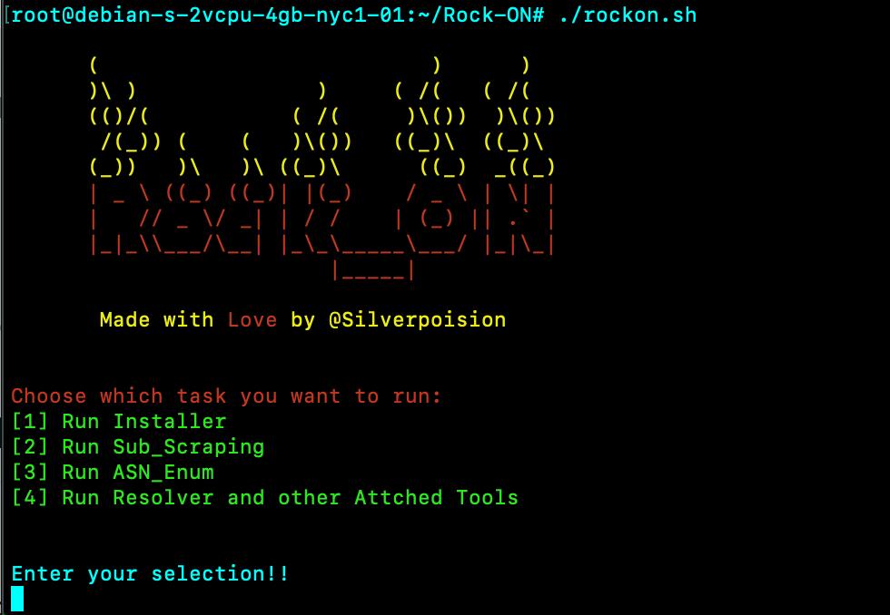 Rock-ON:一款自动化的多功能网络侦查工具