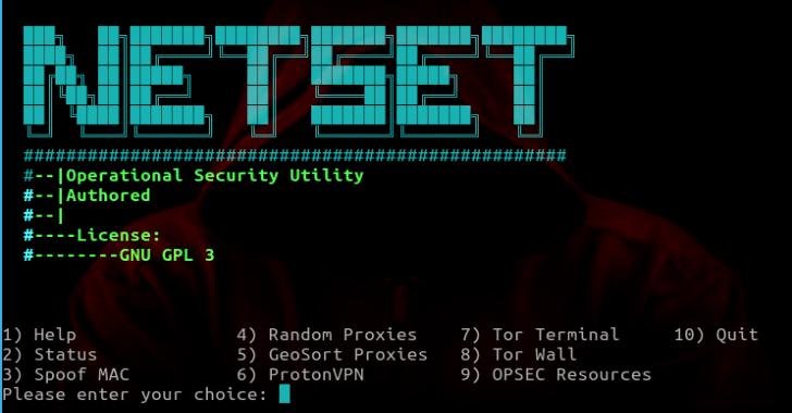 NetSet - 自动化网络流量安全增强工具