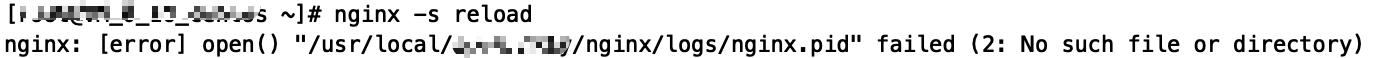解决nginx: [error] open()