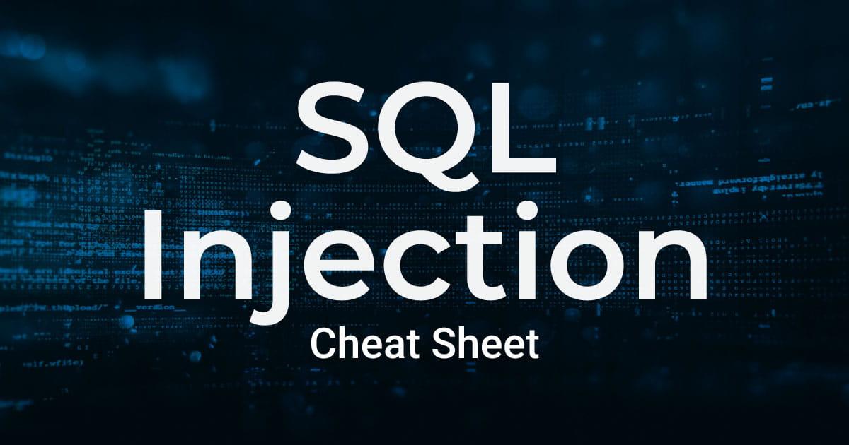 SQL注入备忘录