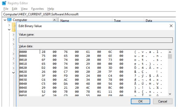 创建隐藏注册表项的工具:SharpHide