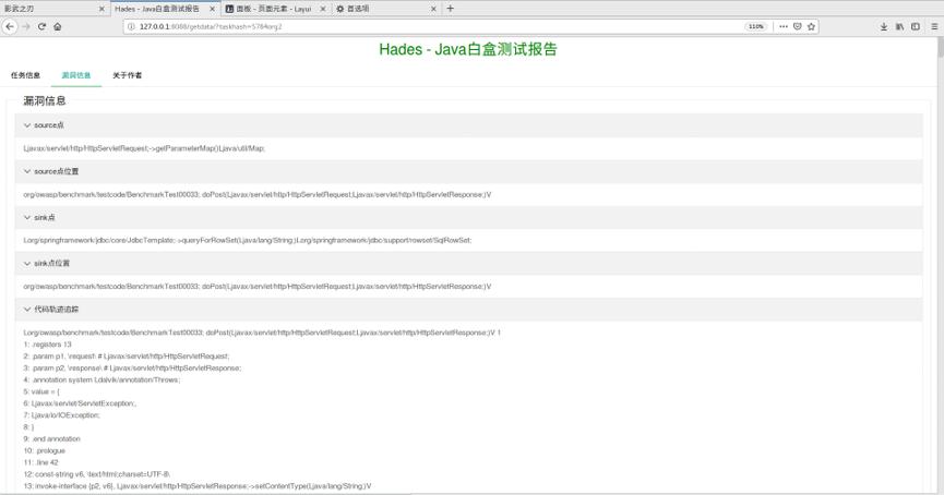 开源白盒审计/静态代码分析检测系统:Hades